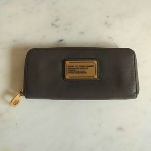 MARC BY MARC JACOBS - grey long wallet